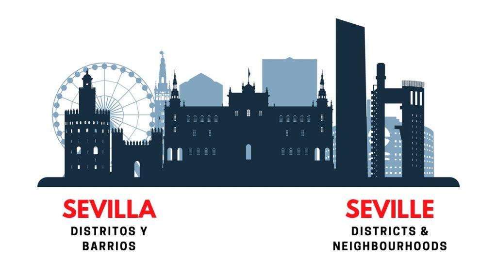 Sevilla Districts and Neighbourhoods
