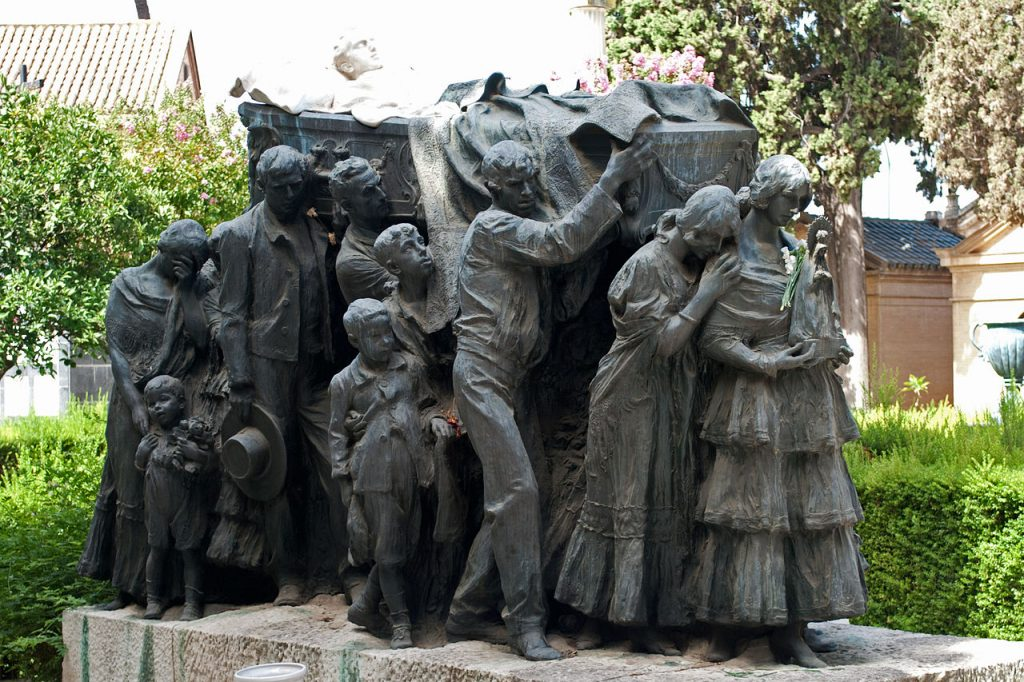 Mausoleo del cementerio de San Fernando de Sevilla | Distrito Norte | Sevilla