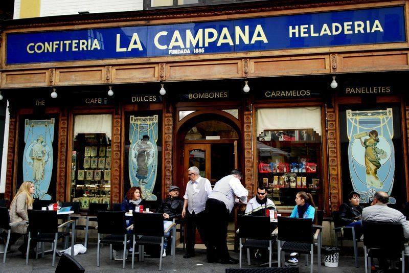 Confitería-Heladería La Campana Sevilla